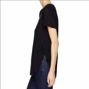 Aritzia wilfred hi-lo side split T-shirt XXS